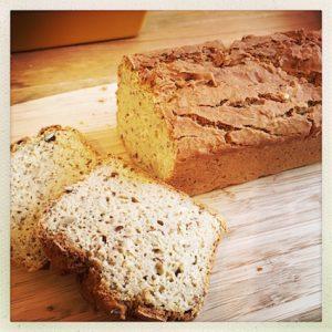 Brot aus glutenfreien Zutaten
